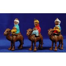 Reyes a camello modernos 8 cm plástico Fabregat