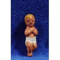 Niño Jesús 8 cm barro Fabregat