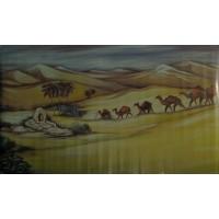 Fondo camelos 100x60 cm plastico metalizato