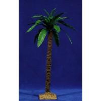 Palmera 35 cm plastico-madera