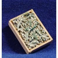 Bandeja peces 3x2 cm madera