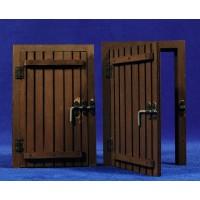 Puerta cuadrada 16 cm madera