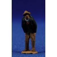 Pastor con manos en los bolsillos popular 3 cm pasta cerámica Hermanos Cerrada