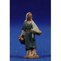 Pastora samaritana 3 cm pasta cerámica Hermanos Cerrada