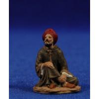 Pastor sentado 5 cm pasta cerámica Hermanos Cerrada