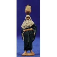Pastora aguadora 7 cm pasta cerámica Hermanos Cerrada