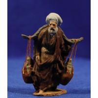 Pastor con cántaros 7 cm pasta cerámica Hermanos Cerrada