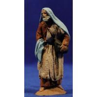 Pastor sarraceno 9 cm pasta cerámica Hermanos Cerrada