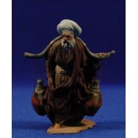 Pastor con cántaros 9 cm pasta cerámica Hermanos Cerrada
