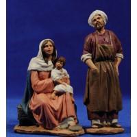 Taller de Natzaret 12 cm pasta cerámica Hermanos Cerrada