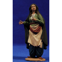 Pastora samaritana 12 cm pasta cerámica Hermanos Cerrada