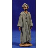Pastor con túnica 12 cm pasta cerámica Hermanos Cerrada