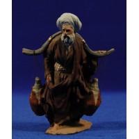 Pastor con cántaros 12 cm pasta cerámica Hermanos Cerrada