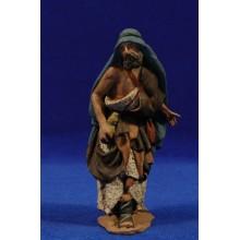 Pastor con zurrón 14 cm pasta cerámica Hermanos Cerrada