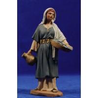 Pastora samaritana 16 cm pasta cerámica Hermanos Cerrada