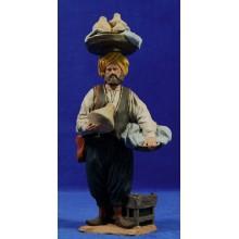 Pastor alcaller 16 cm pasta cerámica Hermanos Cerrada