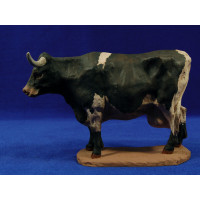 Vaca 20 cm pasta cerámica Hermanos Cerrada