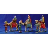 Reyes a camello 8 cm resina estilo Muns