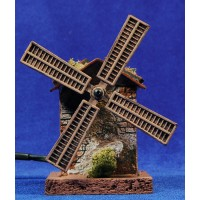 Windmill 12 cm resin