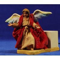 Angel movimiento 12 cm barro y ropa