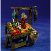 Banco fruta mediano 12 cm madera