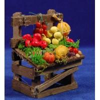 Banco fruta 9x7x5 cm madera