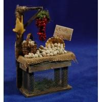 Banco huevos 15 cm madera