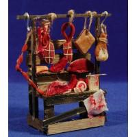 Banco carne 14 cm madera