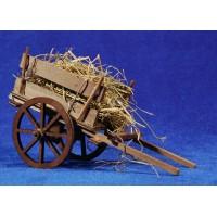 Carro paja 17 cm madera