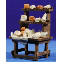 Banco quesos 11 cm madera
