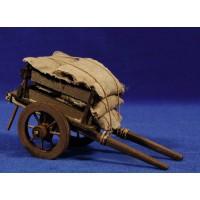 Carro sacos M2 17 cm madera