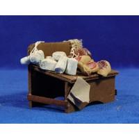 Banco quesos y embutidos 7 cm madera