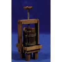 Premsa vino 13 cm madera