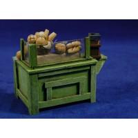 Mostrador panes 10 cm madera