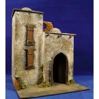Casa hebrea 40x30x30 cm corcho