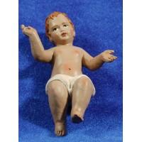Niño Jesús 30 cm barro pintado