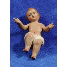 Niño Jesús 24 cm barro pintado