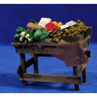 Banco fruta grande 9 cm madera