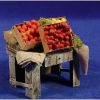 Banco fruta 9x8x7 cm madera