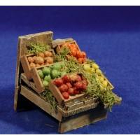 Banco fruta 7x7x7 cm madera