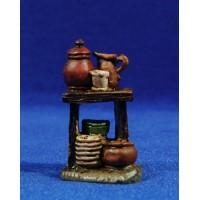 Mercado jarras 6 cm resina