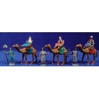 Reyes a camello M2 7 cm plástico Oliver