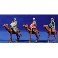 Reyes a camello 6 cm plástico Oliver