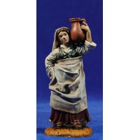 Pastora samaritana con ropa 10 cm durexina Oliver