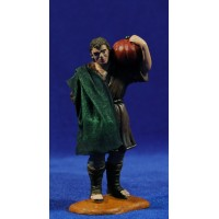 Pastor con calabaza con ropa 10 cm durexina Oliver