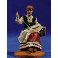 Pastora cosedora con ropa 10 cm durexina Oliver