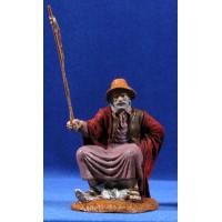 Pescador con ropa 10 cm durexina Oliver