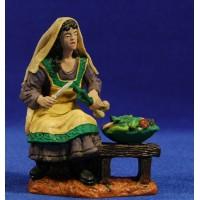 Vendedora de verduras 15 cm durexina Oliver