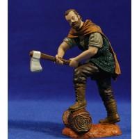 Pastor leñador 15 cm durexina Oliver