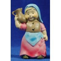 Pastora samaritana naïf 10 cm marmolina Oliver